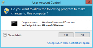 how to change ip address using command prompt