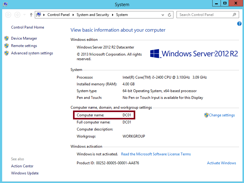 how to create domain in windows server 2012 r2 pdf