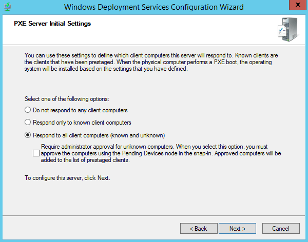 Windows Deployment Services 2012 R2