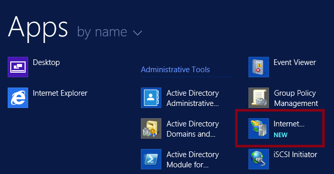 How to create website on IIS in Windows Server 2012 R2