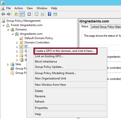 Updated} How to disable Run Group Policy using GPMC