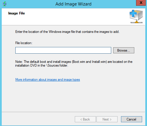 How to deploy OS using WDS in Windows Server 2012 R2