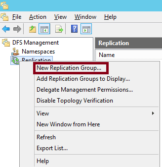 Howtocreatereplicationgroupindfs