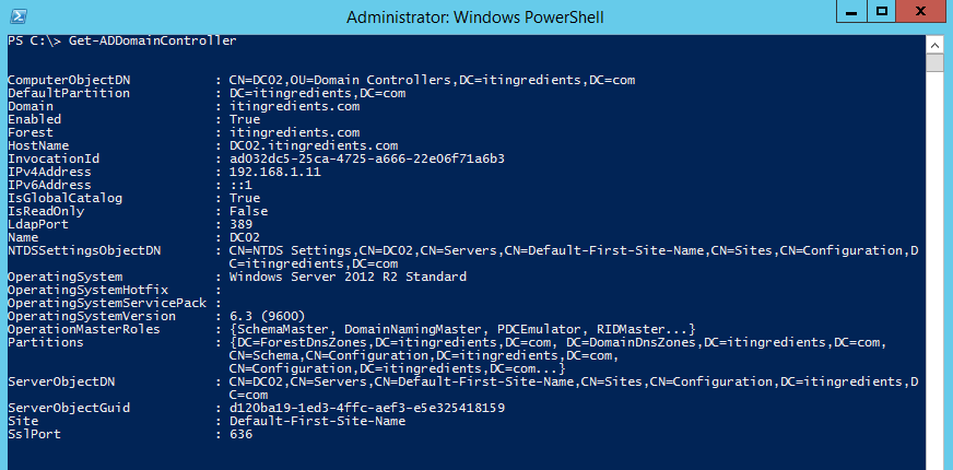 How to Promote Domain Controller with Windows PowerShell