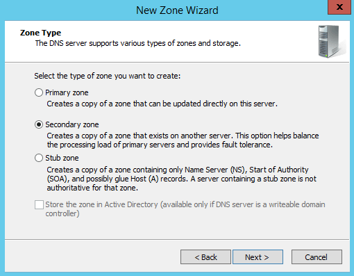Active directory dns not updating