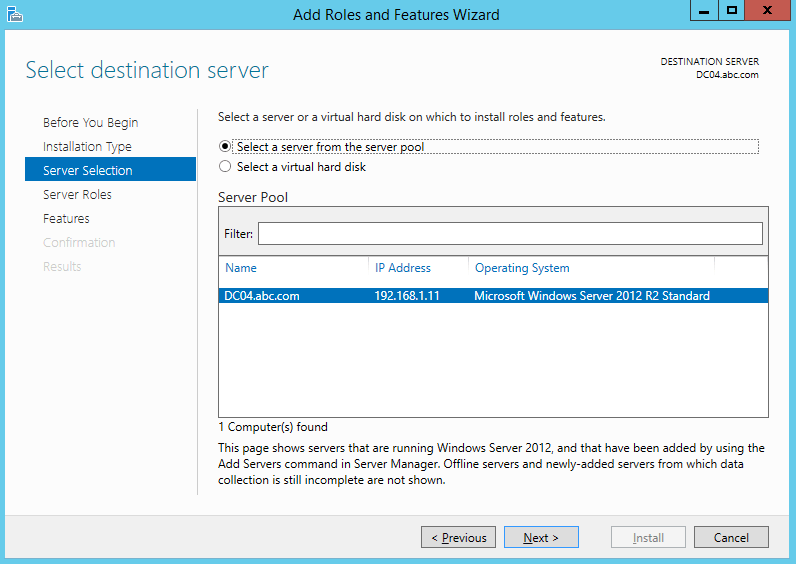 How to Install DHCP Server in Windows Server 2012