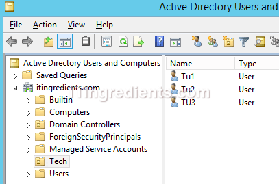 How to configure folder redirection GPO