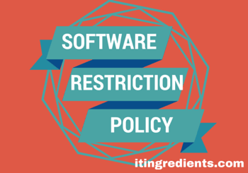 Software Restriction Policy using Group Policy