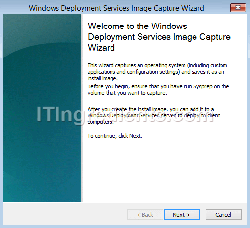 How to CAPTURE Image and DEPLOY Image using WDS