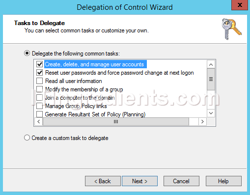 How to Delegate Control in Active Directory Users and Computers