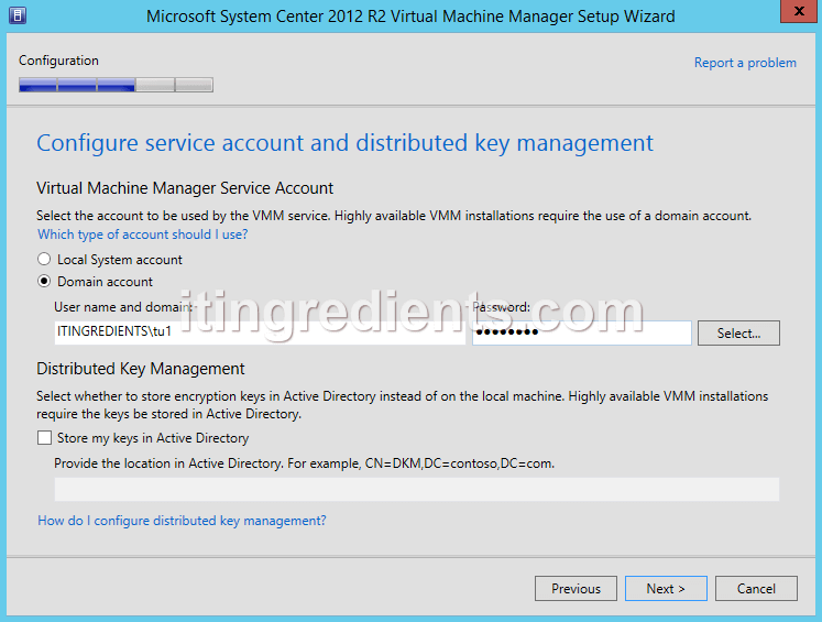 How to Install SCVMM 2012 R2 on Windows Server 2012 R2