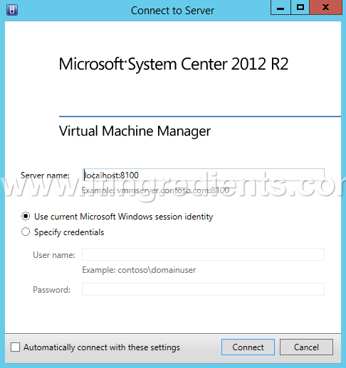 Create VM in Hyper-V using SCVMM (1)