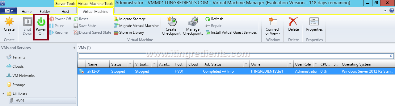 Create VM in Hyper-V using SCVMM (24)