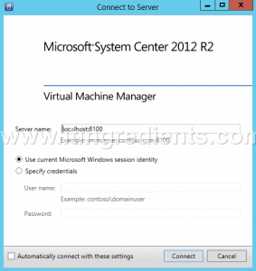 How to Add Hyper-V Server in SCVMM 2012 R2 (1)