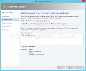 How to Add Hyper-V Server in SCVMM 2012 R2 (6)