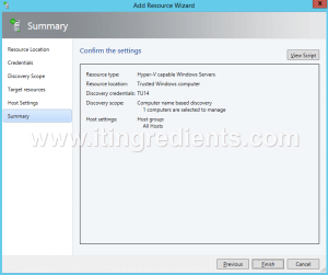 How to Add Hyper-V Server in SCVMM 2012 R2 (9)