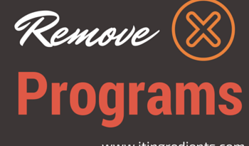 How to Remove Programs from Start Menu using Group Policies