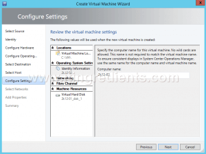 Create VM Template using SCVMM (11)