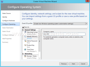 Create VM Template using SCVMM (8)