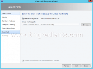 How to Create Virtual Machine template in SCVMM 2012 R2 (12)