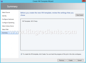 How to Create Virtual Machine template in SCVMM 2012 R2 (13)