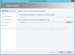 How to Create Virtual Machine template in SCVMM 2012 R2 (2)