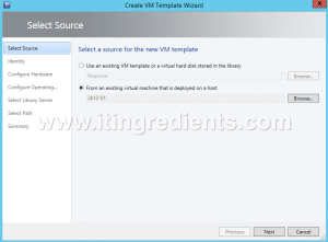 How to Create Virtual Machine template in SCVMM 2012 R2 (4)