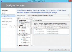 How to Create Virtual Machine template in SCVMM 2012 R2 (7)