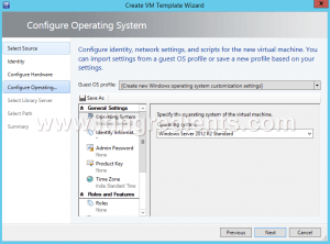 How to Create Virtual Machine template in SCVMM 2012 R2 (8)