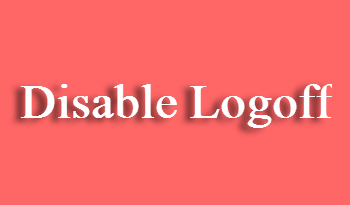 How to Disable Logoff from Ctrl Alt Del via GPO