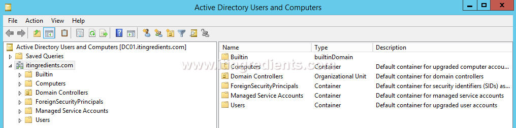 Know more about Active Directory Users and Computers (1)