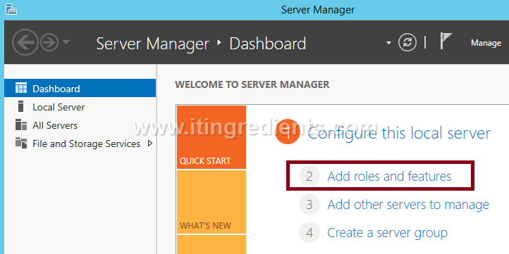 Install WSUS on Server 2012 R2 - Windows Server Update Services