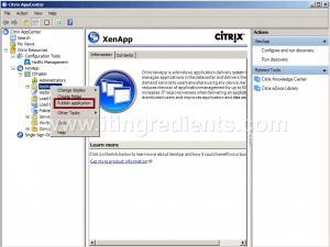 How to Publish Desktop in Citrix XenApp 6 (1)