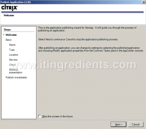 How to Publish Desktop in Citrix XenApp 6 (2)