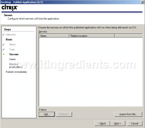 How to Publish Desktop in Citrix XenApp 6 (5)