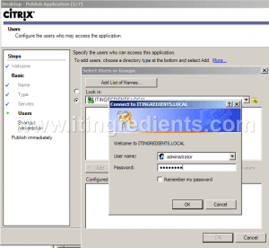 How to Publish Desktop in Citrix XenApp 6 (9)