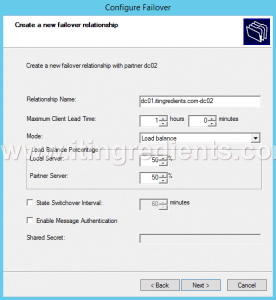 How to load balance DHCP server (20)