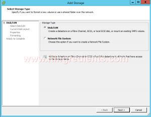 Add Storage to VMWare ESXi 6 using vCenter Server (2)