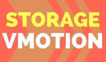 configure Storage vMotion