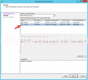 configure Storage vMotion (5)