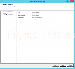 configure Storage vMotion (1)