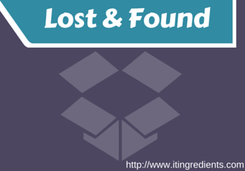 Active Directory Lost and Found Container