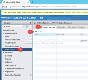 Configure VMWare Single SignOn using WebClient (1)