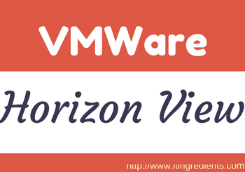 Install VMWare Horizon View 7 Connection Server