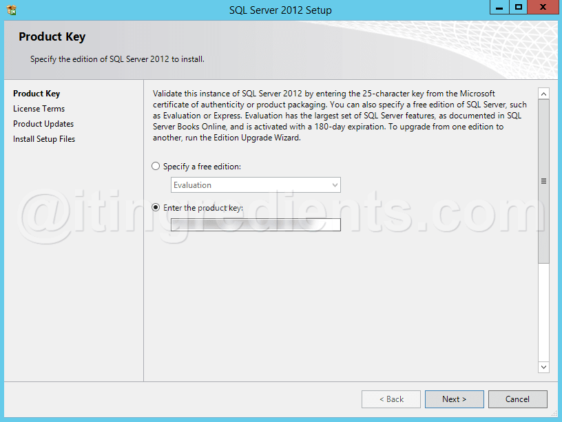 How to install SQL Server 2012 on Windows Server 2012 R2