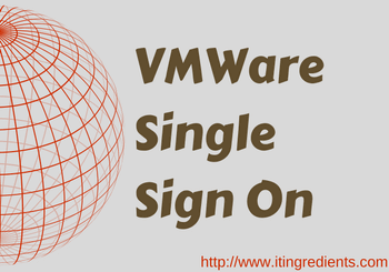 implement VMWare Single Sign On using WebClient