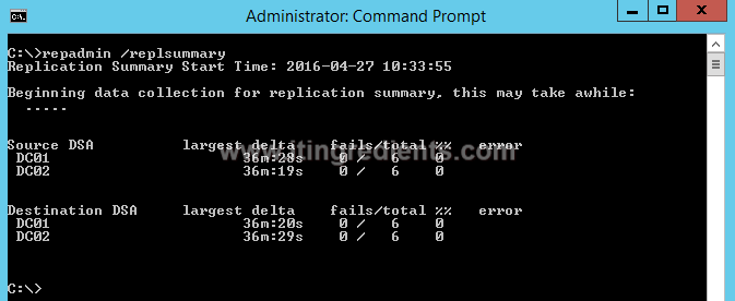 How to Check AD Replication in Windows Server 2012 R2 (9)